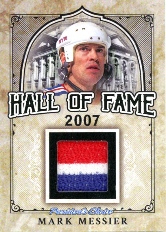 Mark Messier (New York Rangers) Hall of Fame 1/1