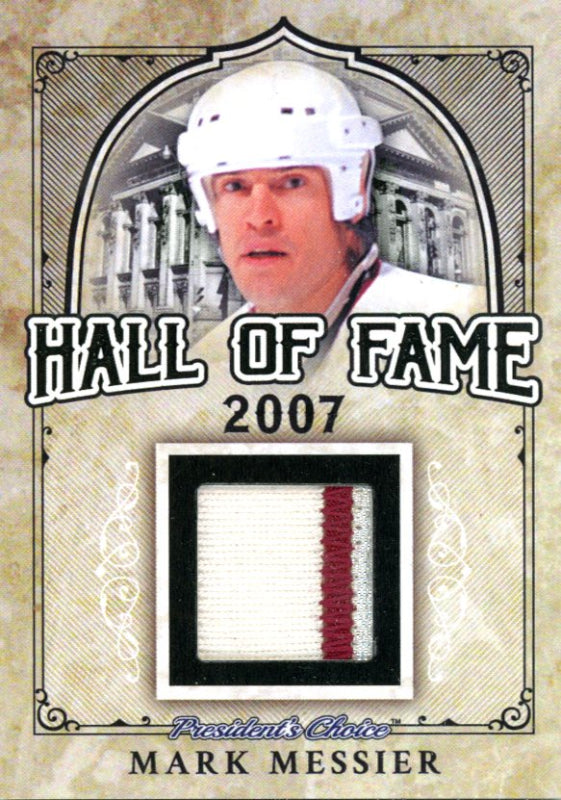 Mark Messier (Vancouver Canucks) Hall of Fame 1/1
