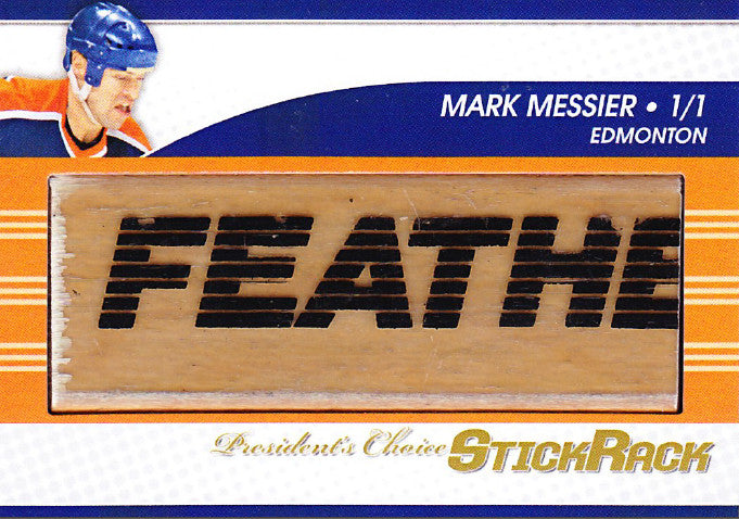 Mark Messier StickRack 1/1