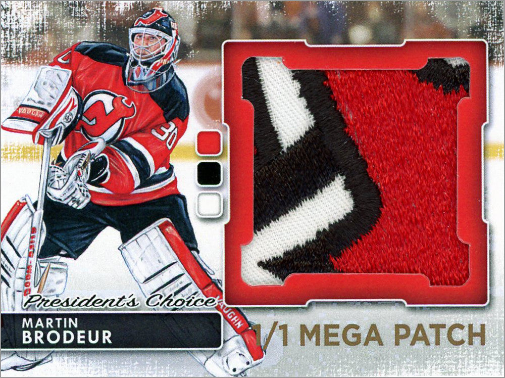 Martin Brodeur Megapatch 1 1 President S Choice Trading Cards