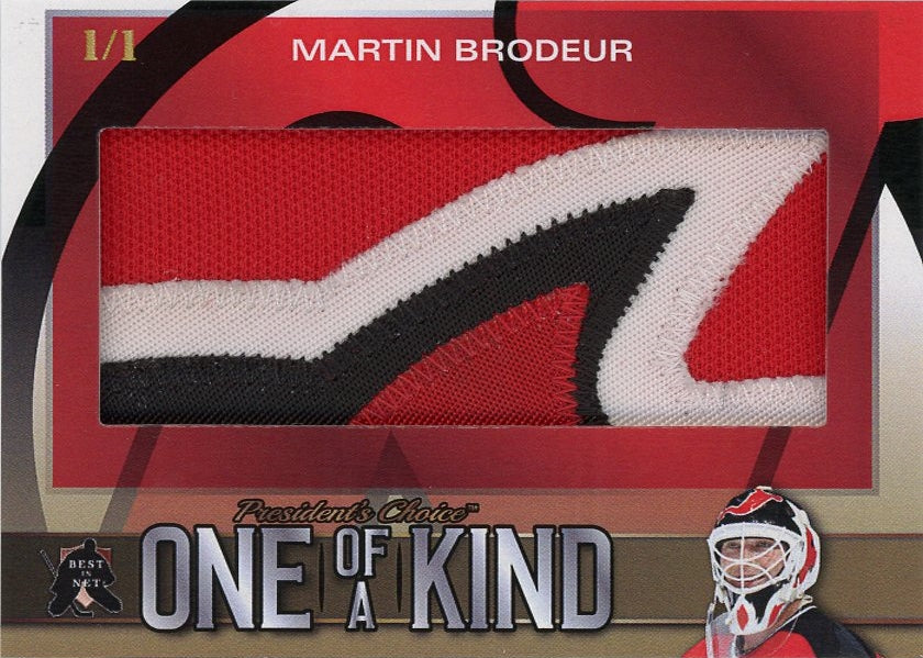 Martin Brodeur One of a Kind 1/1 (Patch)