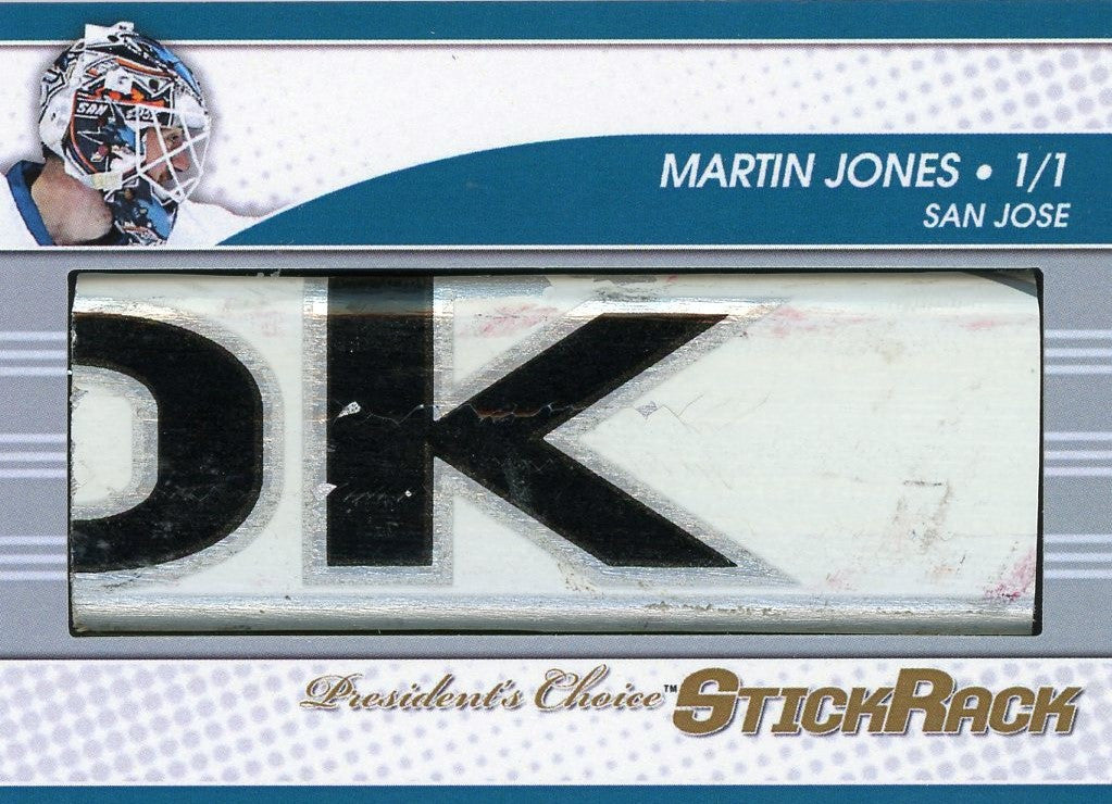 Martin Jones StickRack 1/1