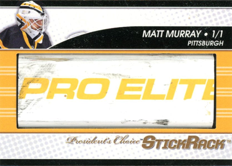Matt Murray StickRack 1/1