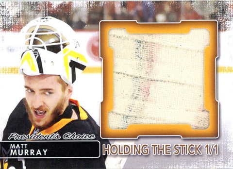 Matt Murray Holding the Stick 1/1