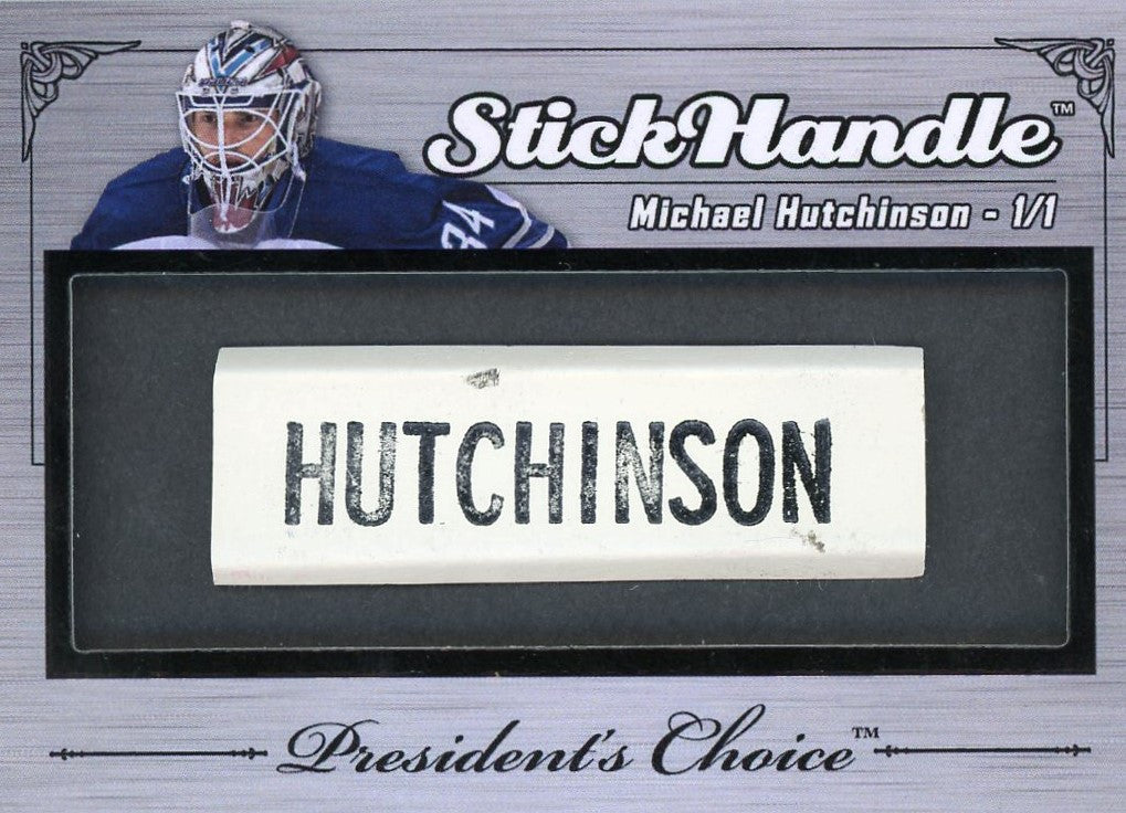 Michael Hutchinson StickHandles 1/1