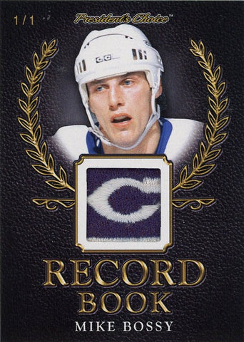 Mike Bossy Record Book 1/1