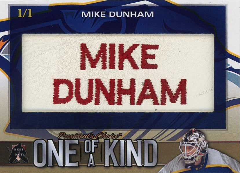 Mike Dunham One of a Kind 1/1