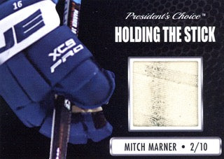 Mitch Marner Holding the Stick /10