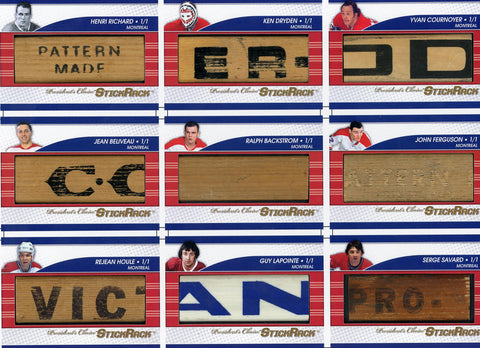 Montreal Canadiens 1971 Uncut Sheet /3