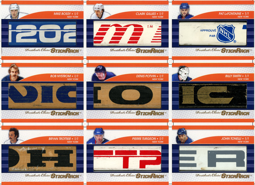 New York Islanders Franchise Uncut Sheet /3