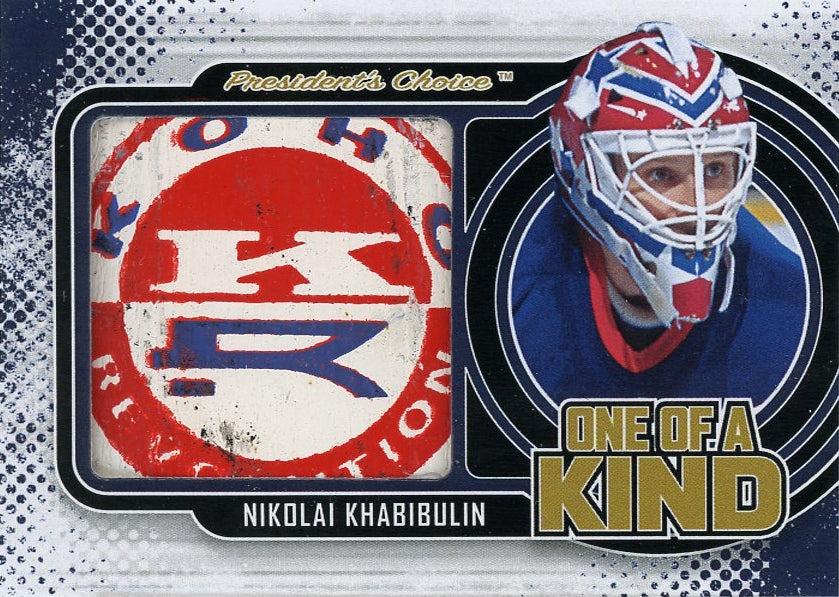 Nikolai Khabibulin One of a Kind 1/1
