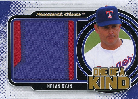 Nolan Ryan One of A Kind 1/1