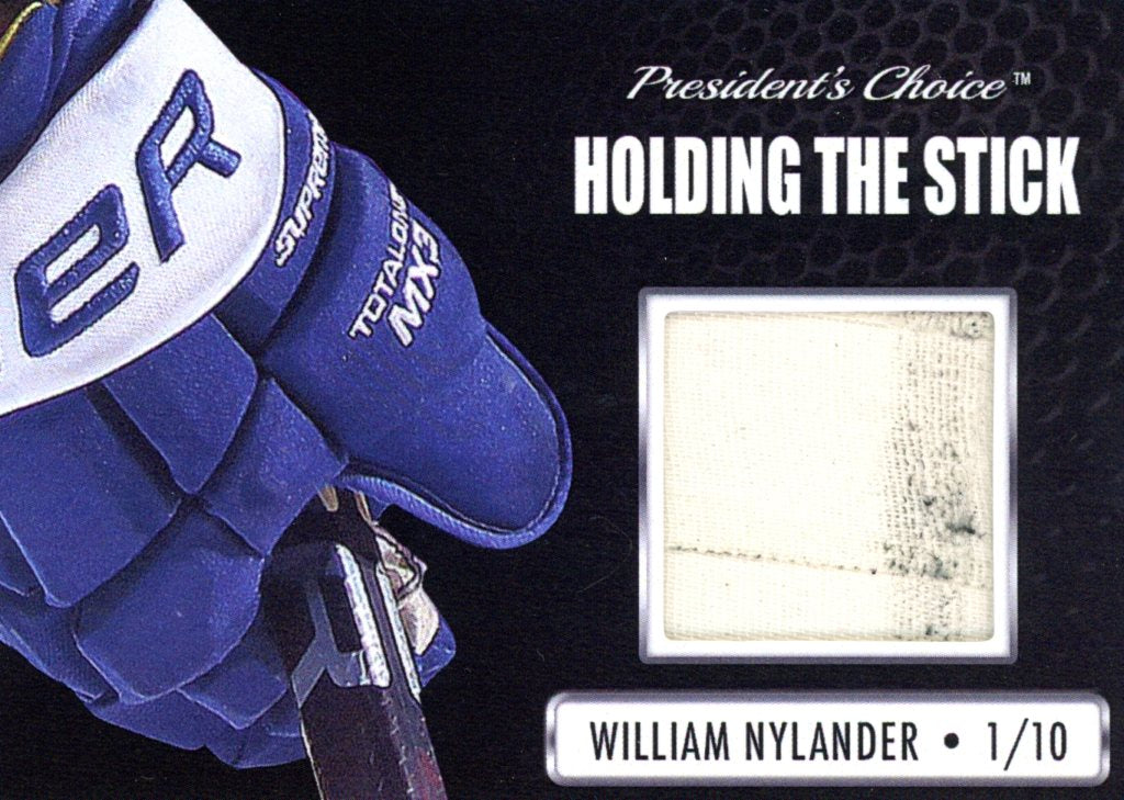 William Nylander Holding the Stick /10