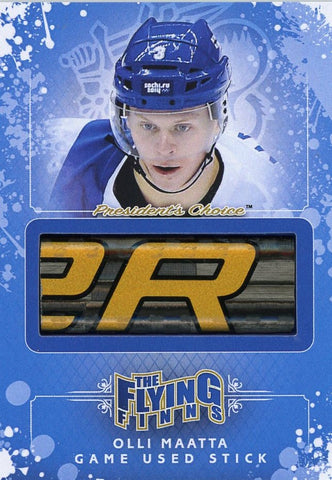 Olli Maatta Game-Used Stick /3