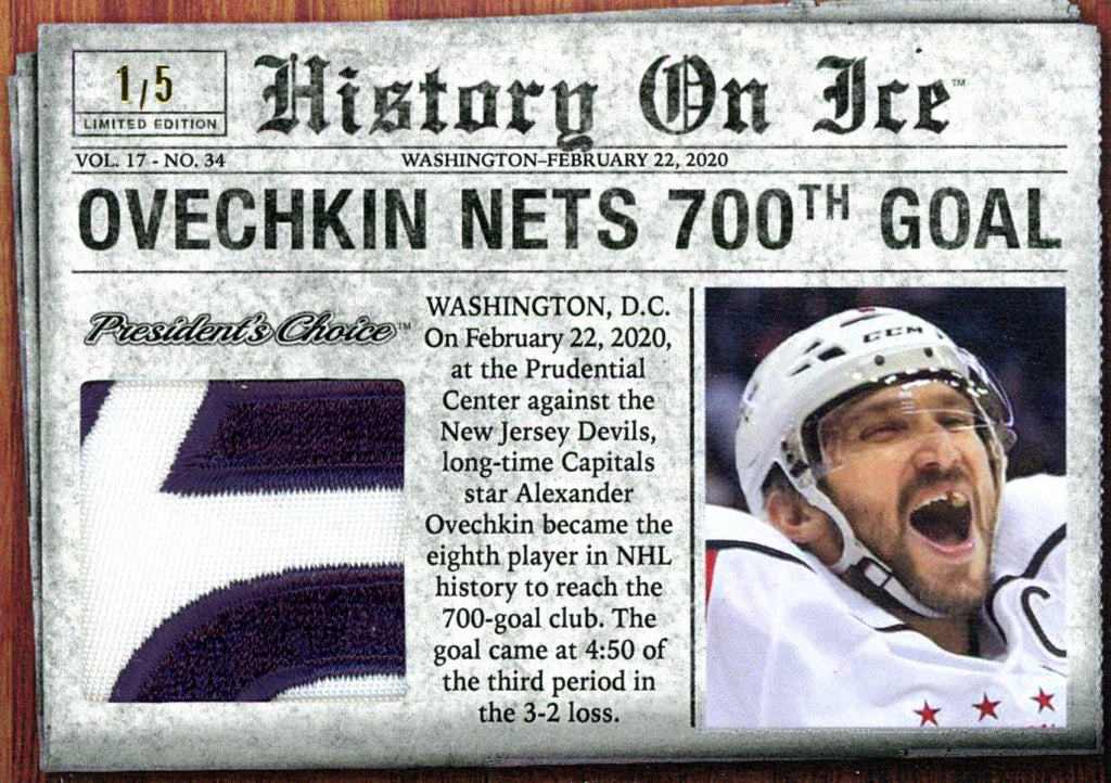 Alex Ovechkin Nets 700th Goal /5