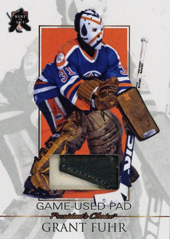 Grant Fuhr Game-Used Pad /3
