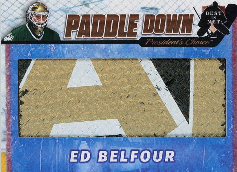 Ed Belfour (Dallas) Paddle Down /3