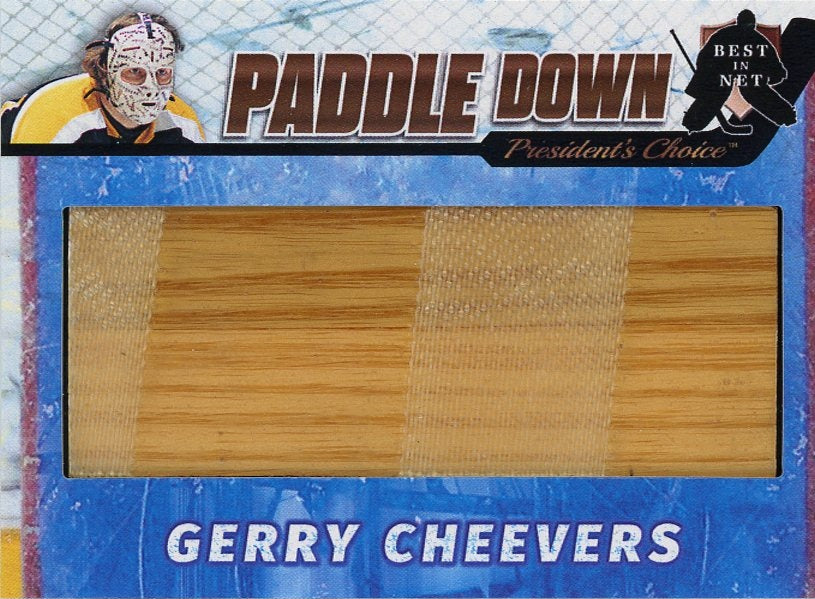 Gerry Cheevers Paddle Down /3