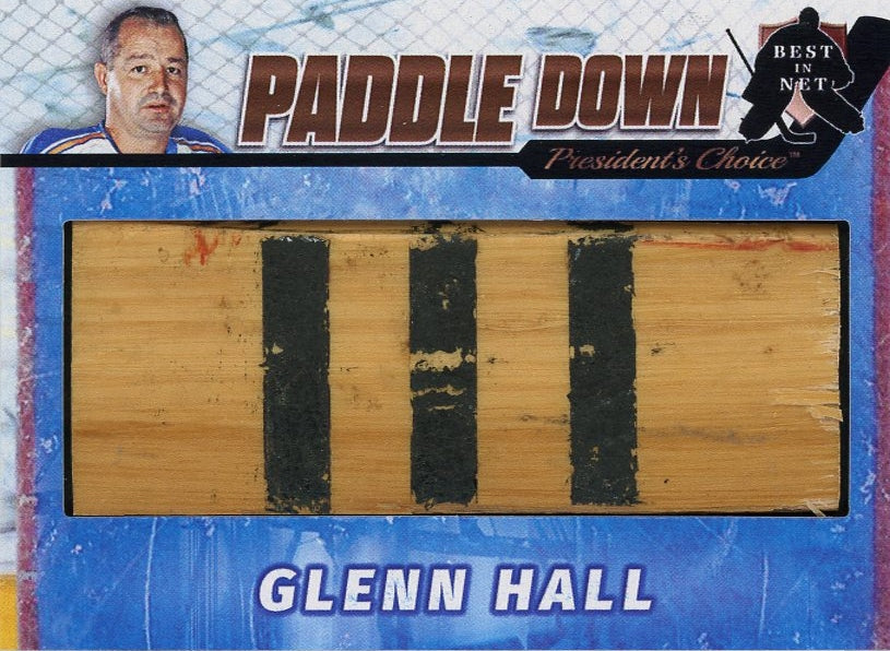 Glenn Hall (St. Louis) Paddle Down /3