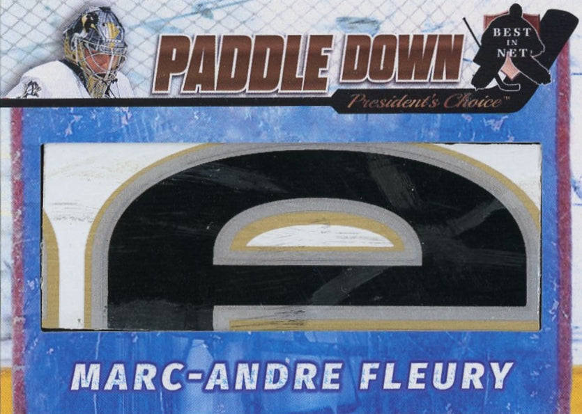 Marc-Andre Fleury Paddle Down /3