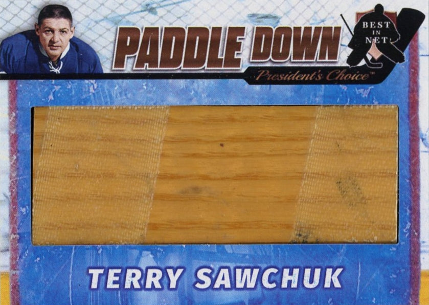 Terry Sawchuk (Toronto) Paddle Down /3