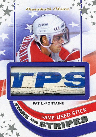 Pat LaFontaine Game-Used Stick /3