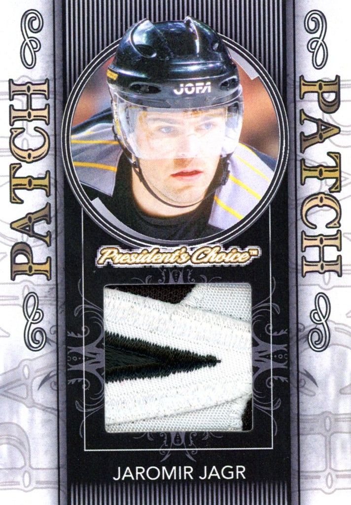 Jaromir Jagr Patch 1/1