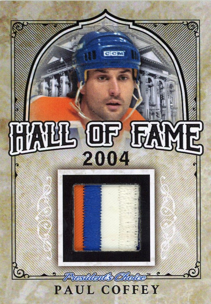 Paul Coffey Hall of Fame 1/1