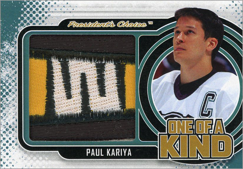 Paul Kariya One of A Kind 1/1
