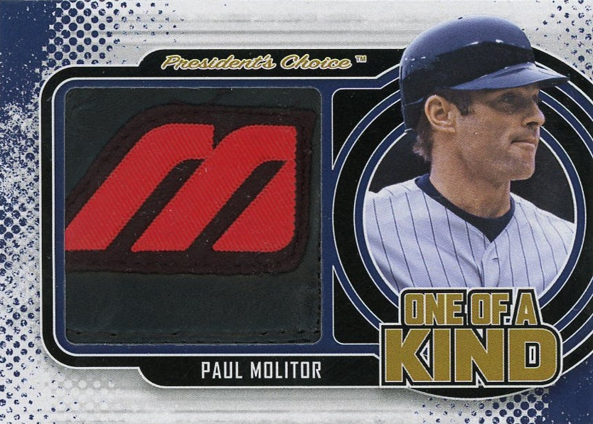 Paul Molitor One of a Kind 1/1