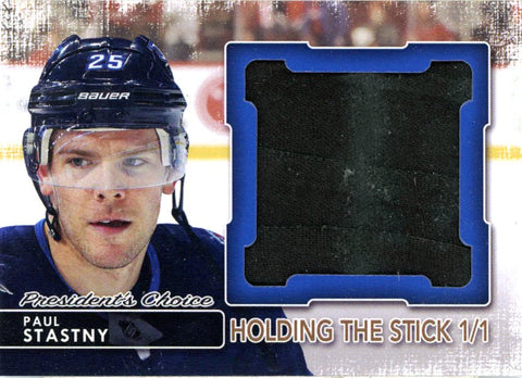 Paul Stastny Holding the Stick 1/1