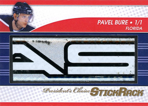 Pavel Bure StickRack 1/1
