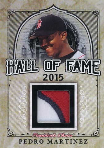 Pedro Martinez Hall of Fame 1/1