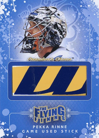 Pekka Rinne Game-Used Stick /3