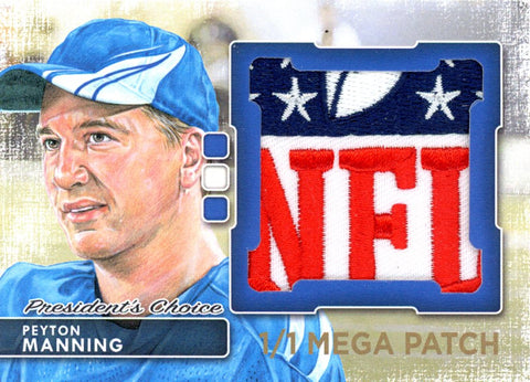 Peyton Manning (Indianapolis) MegaPatch 1/1