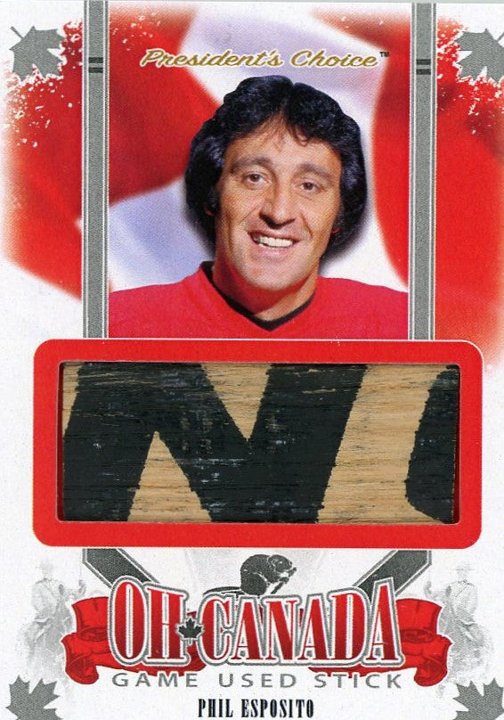 Phil Esposito Game-Used Stick /3