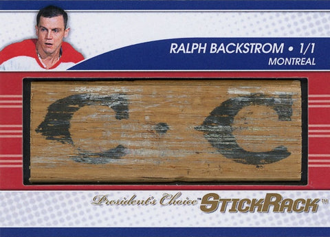 Ralph Backstrom StickRack 1/1