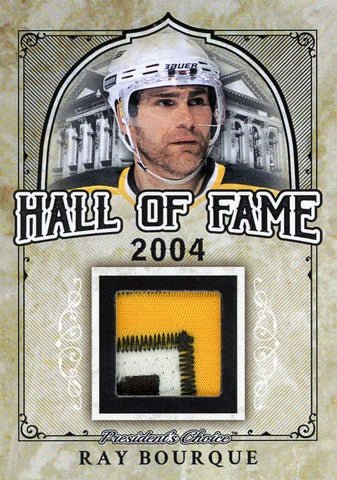 Ray Bourque Hall of Fame 1/1