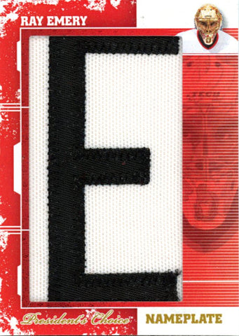 Ray Emery (E) Nameplates 1/1
