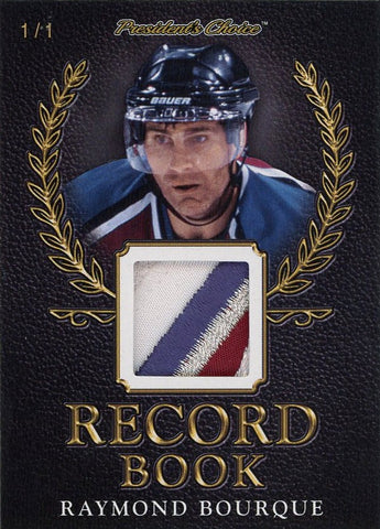 Ray Bourque Record Book 1/1
