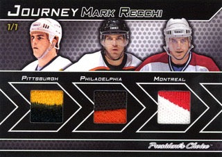 Mark Recchi 1/1 Journey
