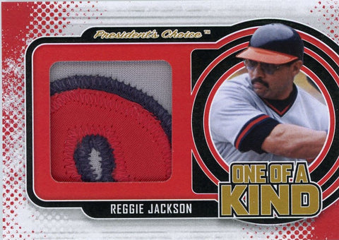 Reggie Jackson One of A Kind 1/1