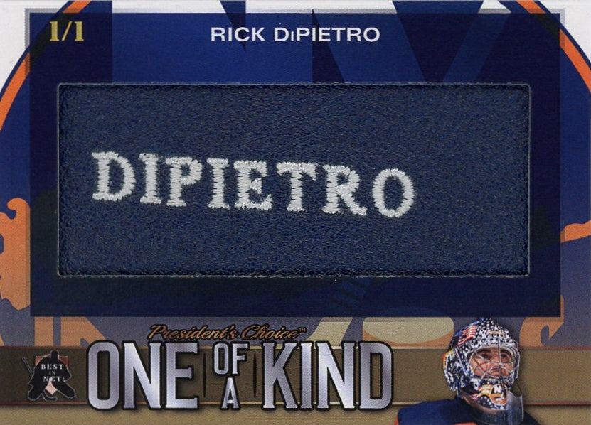 Rick DiPietro One of a Kind 1/1