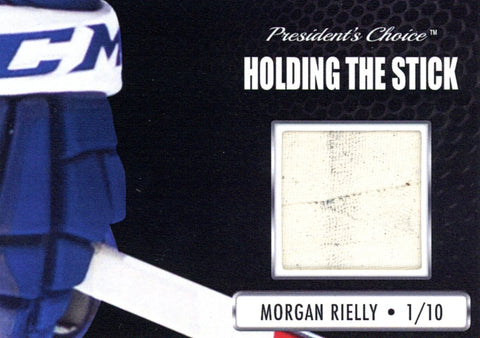 Morgan Rielly Holding the Stick /10