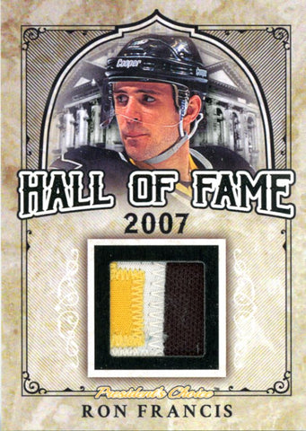 Ron Francis Hall of Fame 1/1