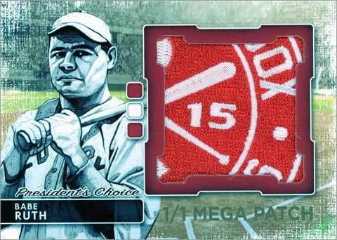 Babe Ruth (Boston) MegaPatch 1/1 (B)