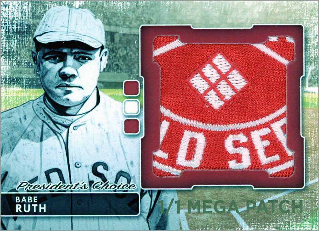 Babe Ruth (Boston) MegaPatch 1/1 (C)