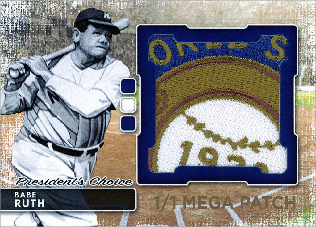 Babe Ruth (New York) MegaPatch 1/1 (A)