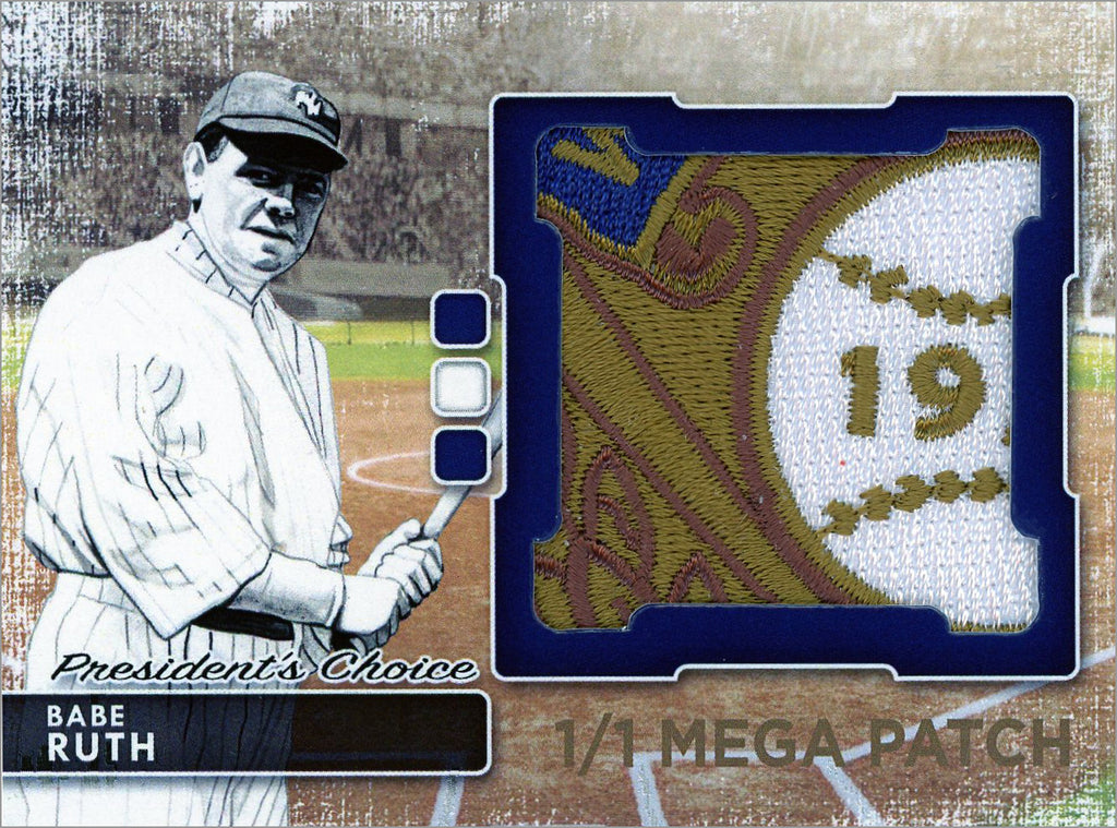 Babe Ruth (New York) MegaPatch 1/1 (B)