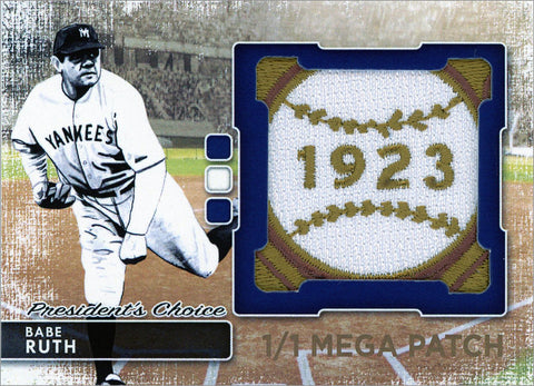 Babe Ruth (New York) MegaPatch 1/1 (C)